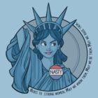 Nasty Lady Liberty by Karen  Hallion