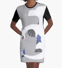Lugia Graphic T-Shirt Dress
