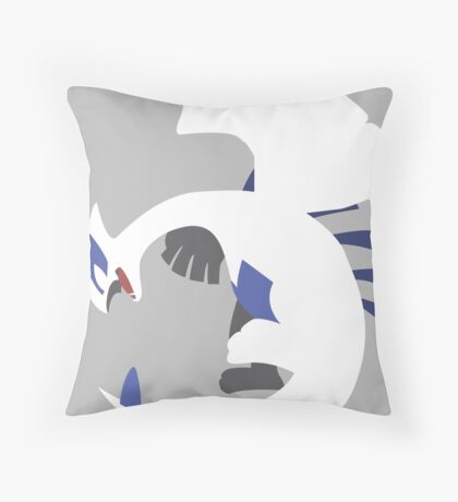 Lugia Throw Pillow