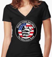 Grand Funk Railroad Shirt Women's Fitted V-Neck T-Shirt