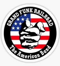 Grand Funk Railroad Shirt Sticker