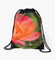Rose Drawstring Bag