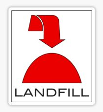 Trash - Landfill Sticker