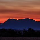 Mount Trio Sunset by robcaddy