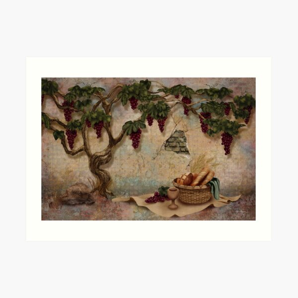 The Bread and the Vine Art Print