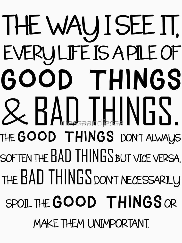Good And Bad Things