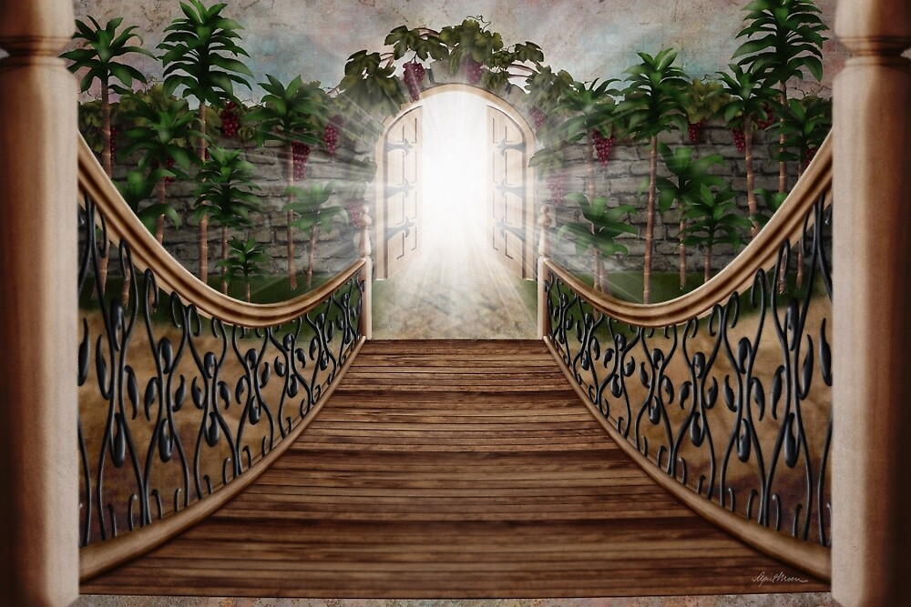 The Way and the Gate by April  Moen