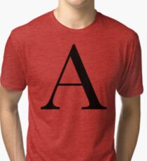 The Letter 'A' Tri-blend T-Shirt