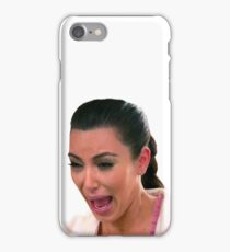 Kim Kardashian Crying iPhone Case/Skin