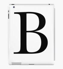 The Letter 'B' iPad Case/Skin