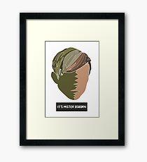 It's Mister Osborn Framed Print