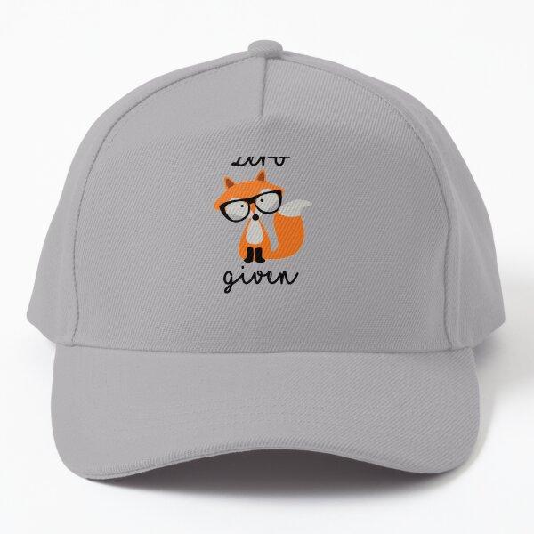 Zero Fox Given Baseball Cap