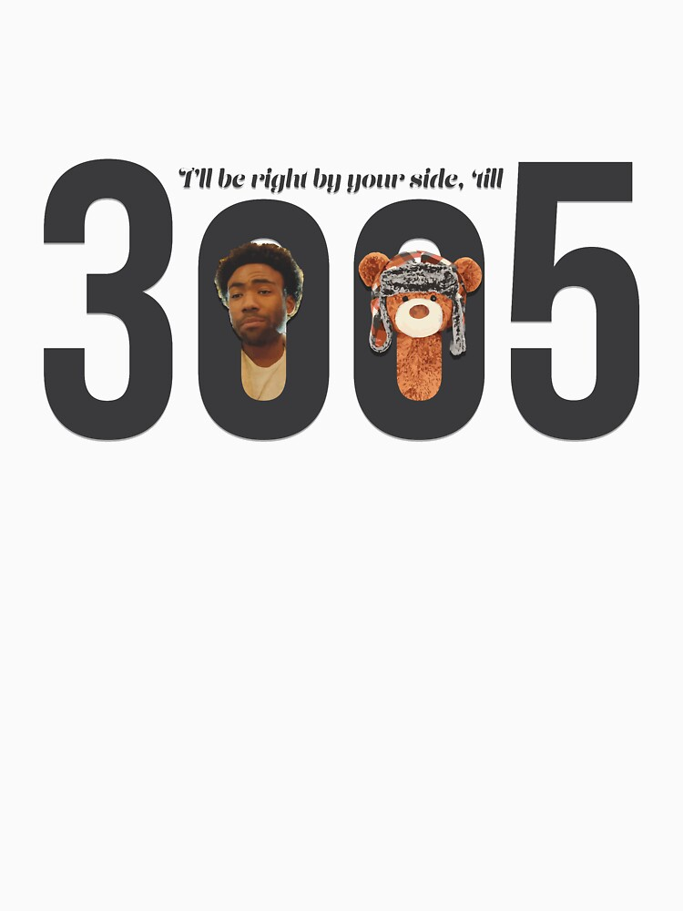 TShirtGifter presents: Childish Gambino - 3005 | Long Sleeve