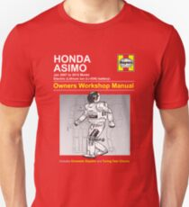 Asimo Owner/Operator Instruction Manual T-Shirt