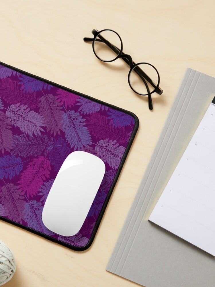 Alternate view of Jacaranda Purple Mouse Pad