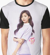 TWICE 'TT' Tzuyu Typography Graphic T-Shirt