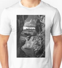 Godrevy Lighthouse 1, Cornwall, UK ~ Atlantic Coast Unisex T-Shirt
