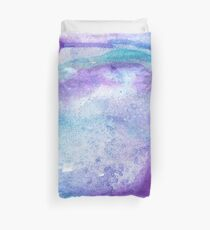 Amethyst watercolor Duvet Cover