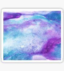 Amethyst watercolor Sticker