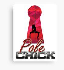 Pole Chick 2 Canvas Print