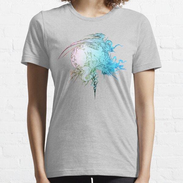 ° ° FINAL FANTASY Final Fantasy XIII-Regenbogen-Logo Essential T-Shirt