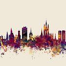 Aberdeen Scotland Skyline by Michael Tompsett