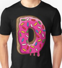 D is for Donut Unisex T-Shirt