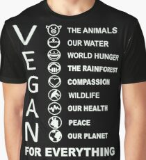 Vegan - Vegan For Everything Graphic T-Shirt