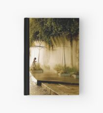 Little Girl at Paris Plages Hardcover Journal