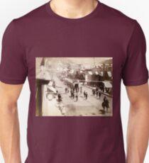 Deadwood people celebrating - John Grabill - 1888 Unisex T-Shirt