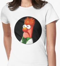 Beaker Womens Fitted T-Shirt