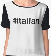 ITALIAN Women's Chiffon Top