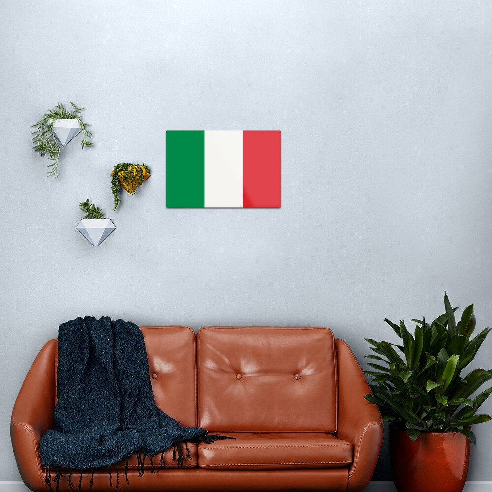Flag of Italy Metal Print