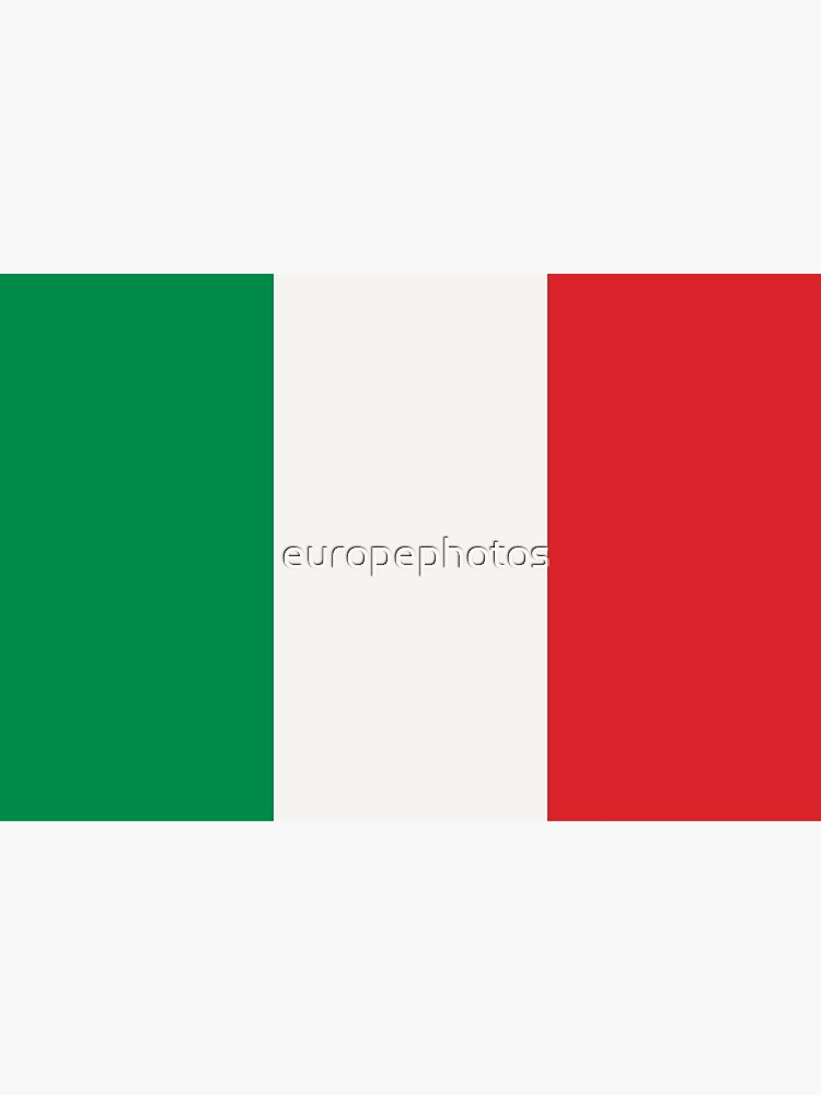 Flag of Italy by europephotos