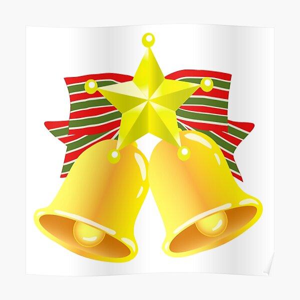 Christmas bell jingle Poster