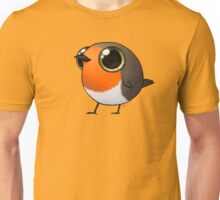 Cute Fat Robin Unisex T-Shirt