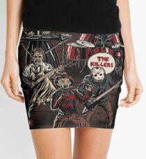 Death Metal Killer Music Horror Mini Skirt