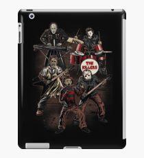Death Metal Killer Music Horror iPad Case/Skin