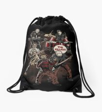 Death Metal Killer Music Horror Drawstring Bag