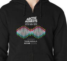 Arctic Monkeys Tour 2014 Zipped Hoodie