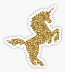 Sparkly Unicorn Sticker