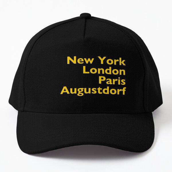 New York London Paris Augustdorf Baseball Cap