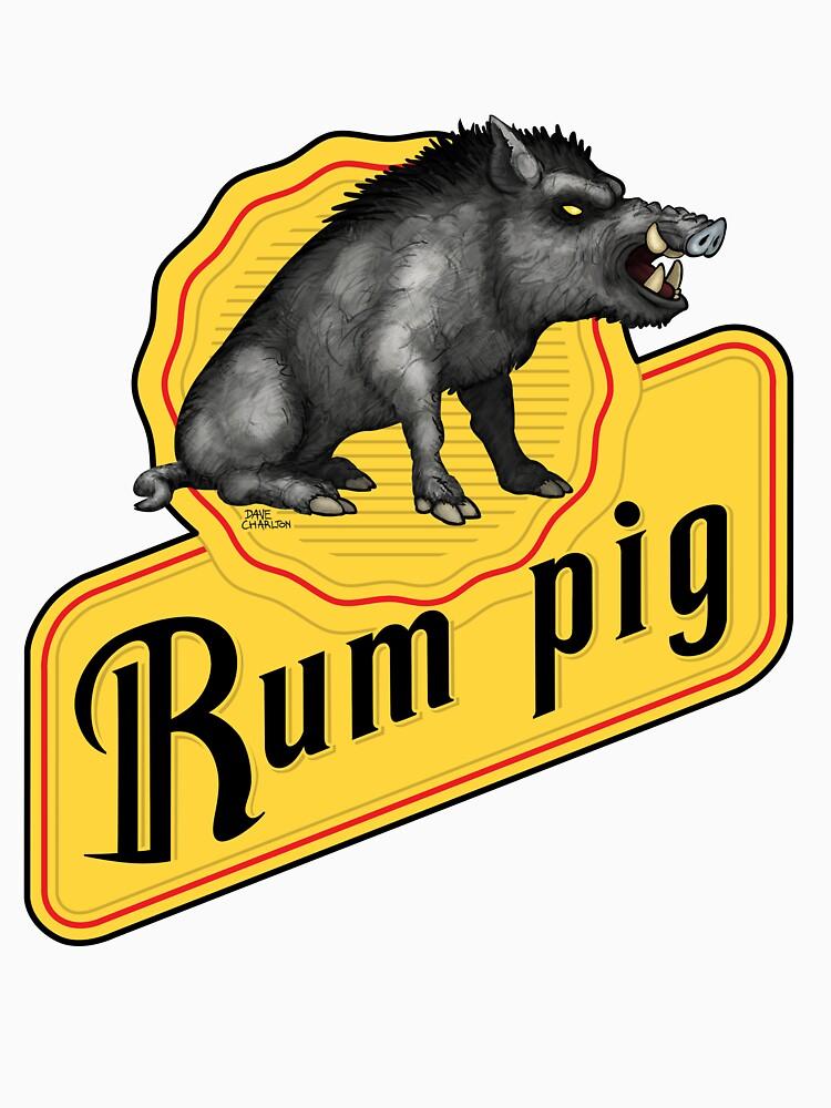 Rum Pig by davecharlton