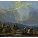 Viking war band by David  Kennett