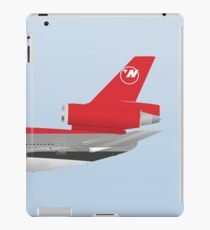 Wings In Uniform - DC-10 - Northwest Airlines - 80's iPad Case/Skin