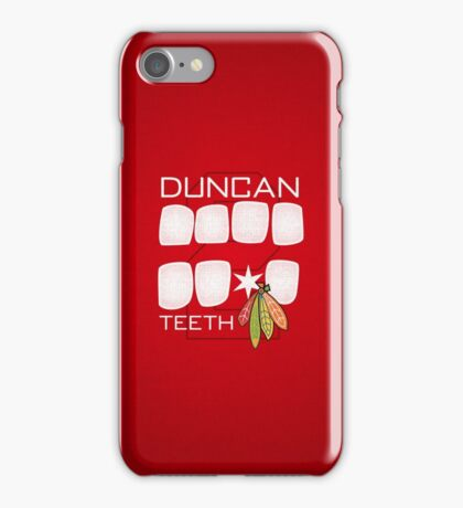 Duncan Teeth iPhone Case/Skin