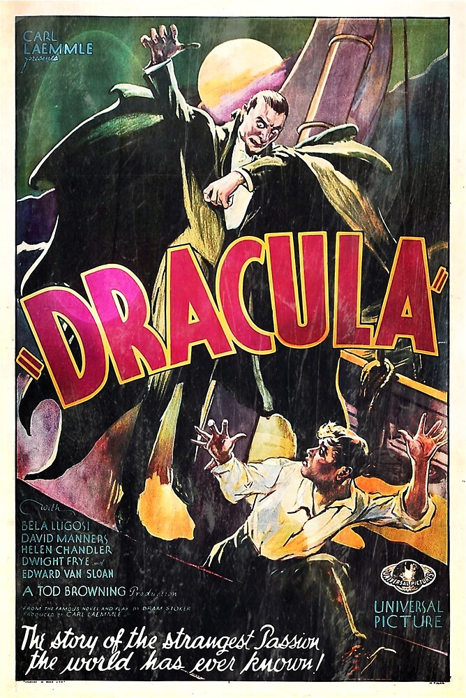 Vampire Poster by Pierpax21