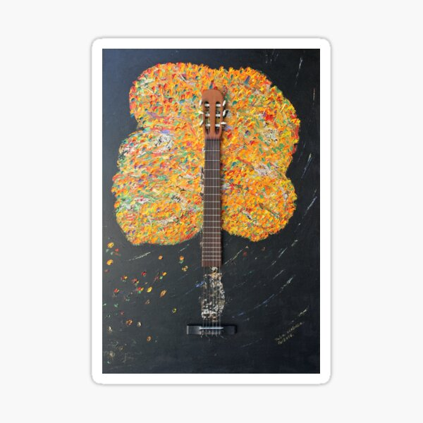 Vivaldi III - guitar Sticker