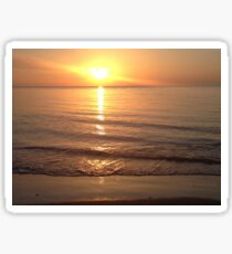 As The Sun Rises  Sticker
