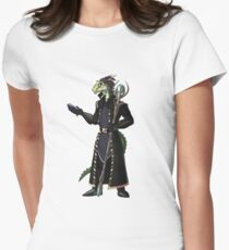 Skyrim Thalmor Argonian Womens Fitted T-Shirt